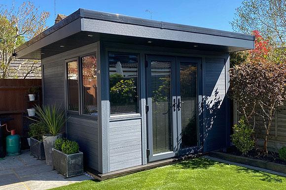 High Performance Composite Garden Rooms Leicester