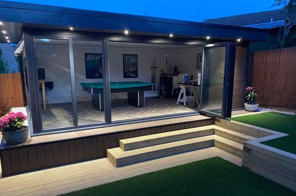 Relaxing Garden Studio Retreats Leicester