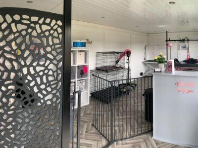 Leicester Garden Room Dog Groomer Finishing Inside Piece