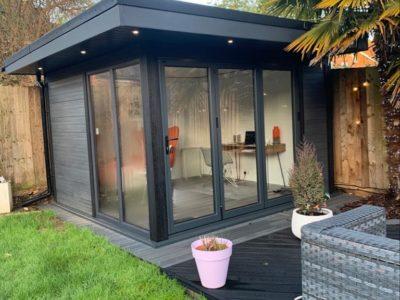 Garden Room In Leicester, Job Complete Copy Copy